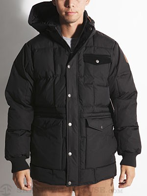 Element Dudley Jacket Black MD