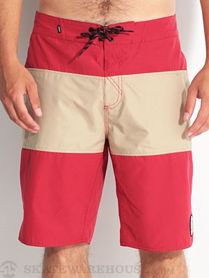 Element Divided Eco Boardshorts Red 36