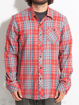 Element Dwayne L/S Woven Shirt Red SM