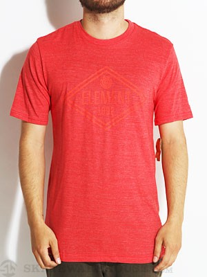 Element Diamond Tri-Blend Tee Tomato XL