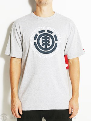 Element Elemental Tee Heather Grey SM