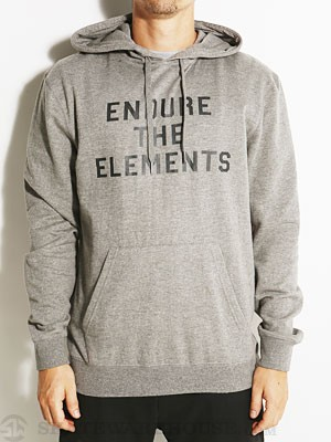 Element Endure Hoodie Heather Grey SM
