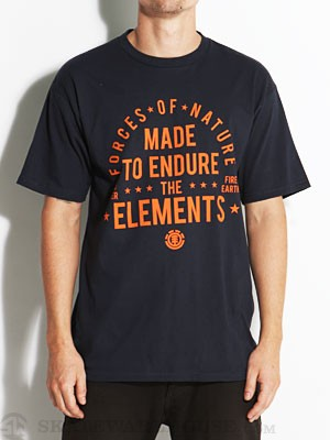Element Forces Of Nature Tee Navy SM
