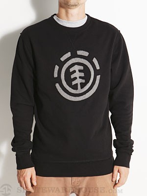 Element Francis Crew Sweatshirt Black MD