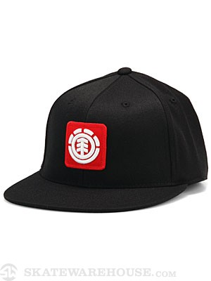 Element Fenwick 210 Fitted Hat Black SM/MD
