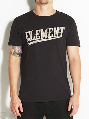 Element Flyer Tee Black SM