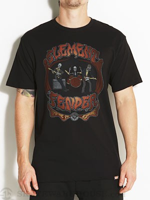 Element x Fender Grateful Tee Black SM