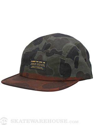 Element Gunny 5 Panel Hat Rust Adj.