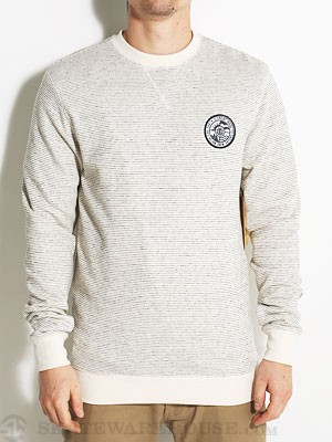 Element Highway Crew Sweatshirt White SM