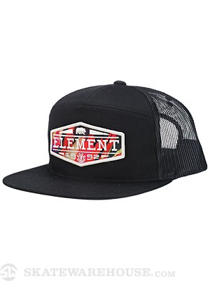 Element Hydro Mesh Hat Black Adj.
