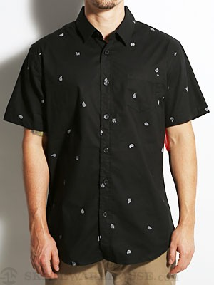 Element Hanky Woven Shirt Black SM