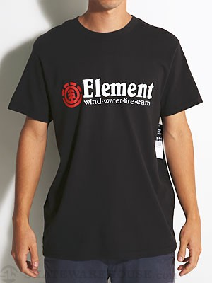Element Horizontal Tee Black SM