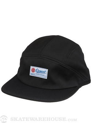 Element Harrier 5 Panel Hat Black Adjust