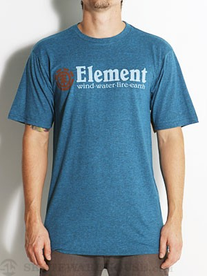 Element Horizontal Tri-Blend Tee Royal SM