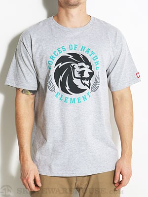 Element Kings Tee Heather Grey SM