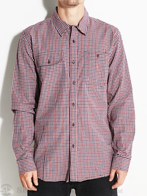 Element Landry Woven Shirt Indigo MD