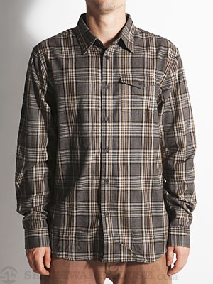 Element Lumber Woven Shirt Black SM