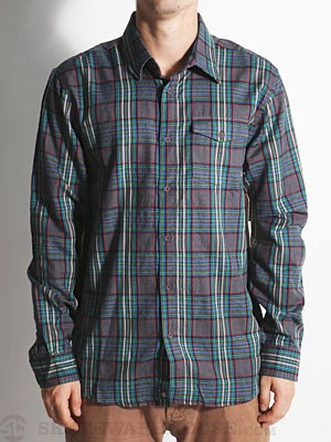 Element Lumber Woven Shirt Indigo SM