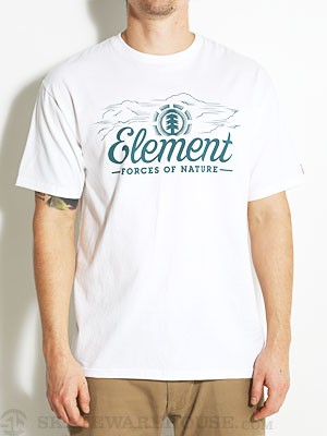 Element Cloud Tee White SM