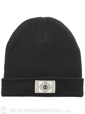 Element Miles Beanie Black