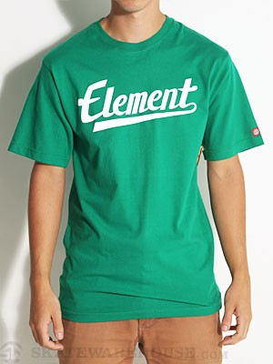 Element Make It Count Tee Kelly Green SM
