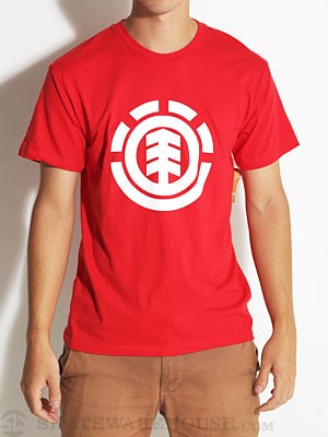 Element Make It Count Tee Red LG