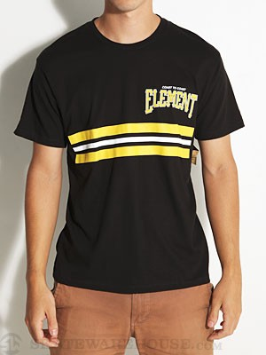 Element Majors Tee Black MD