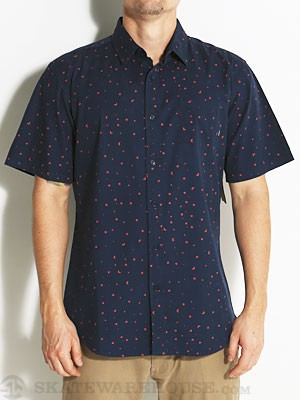 Element Neo Geo Woven Shirt Indigo MD