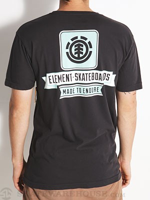 Element Hanging Tee Black XL