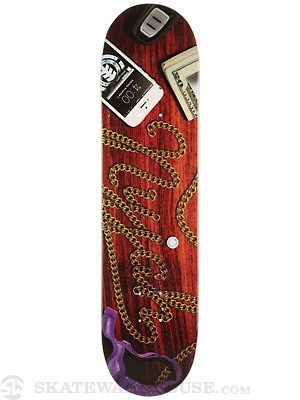 Element Nyjah Nightcap Deck  7.75 x 31.25
