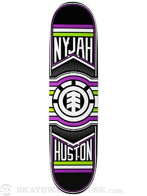 Element Nyjah Ride Deck  8.125 x 32.35