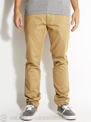 Element Outkast Chino Pants Dark Khaki 28