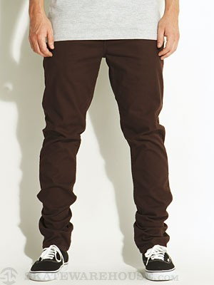 Element Owen Twill Pants Rust 29