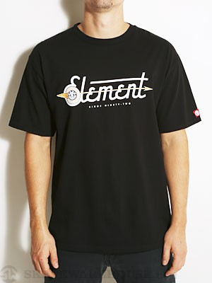 Element Onward Tee Black SM