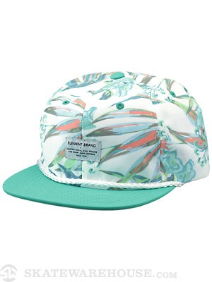 Element Oasis Snapback Hat White Adjust