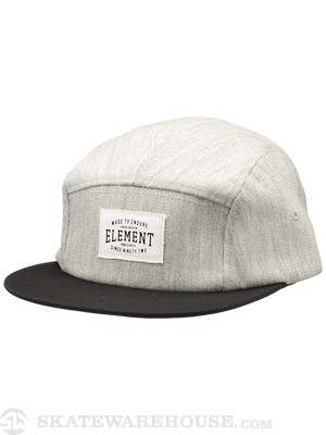 Element Paladium 5 Panel Hat Grey Adjust