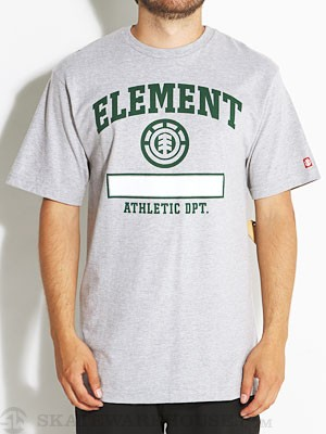 Element Phys Ed Tee Heather Grey XL