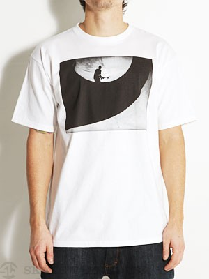 Element Perspective Tee White/Black SM