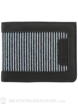 Element Picket Wallet Black