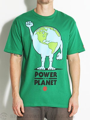 Element Planet Tee Kelly Green SM