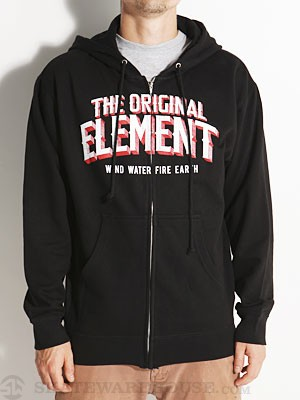 Element Progress Hoodzip Black MD