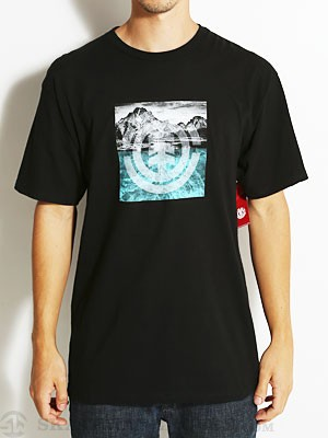 Element Range Tee Black SM