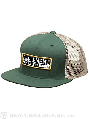 Element Regent Mesh Hat Pine Adjust