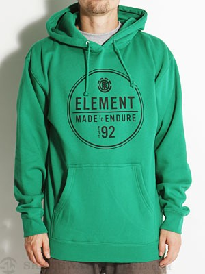 Element Ring Hoodie Kelly Green SM