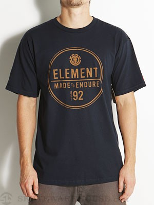 Element Ring Tee Navy SM