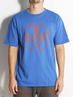 Element Ring Tee Royal SM
