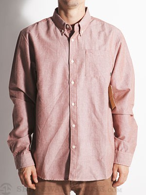Element Ron Woven Shirt Henna MD