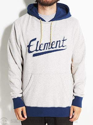 Element Rise Custom Hoodie Heather Grey XL