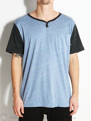 Element Renwick Henley Heather Blue XL