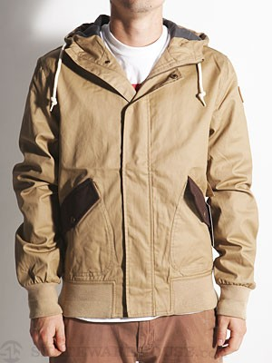 Element Rye Jacket Khaki MD
